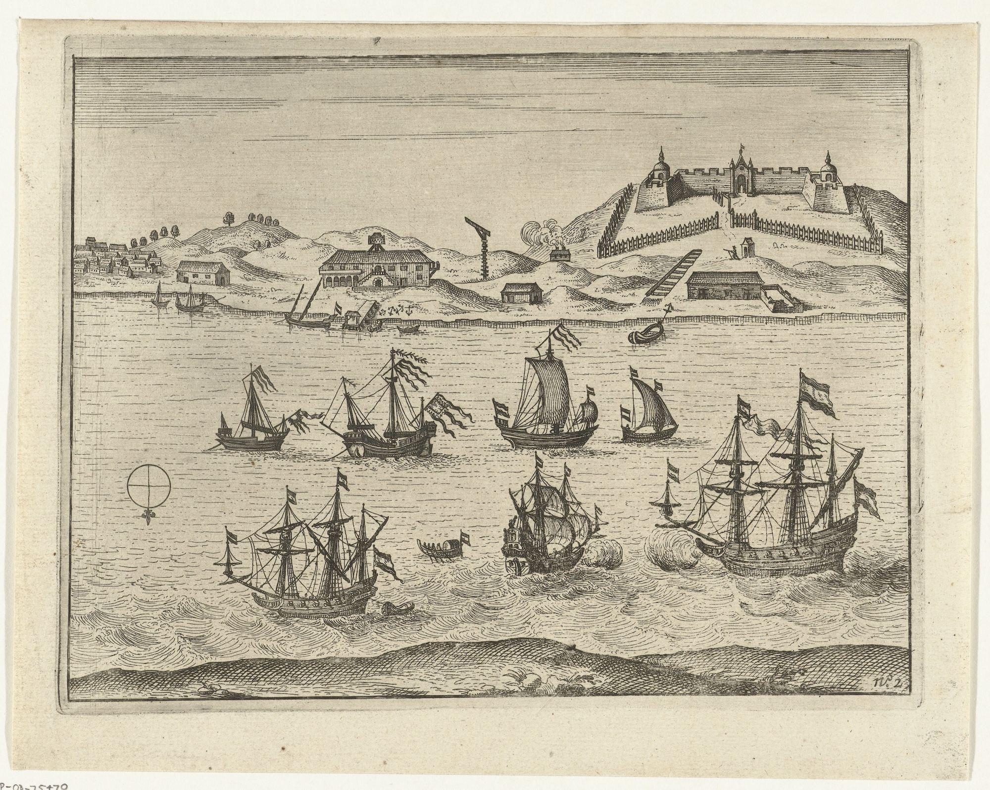 View of Fort Zeelandia