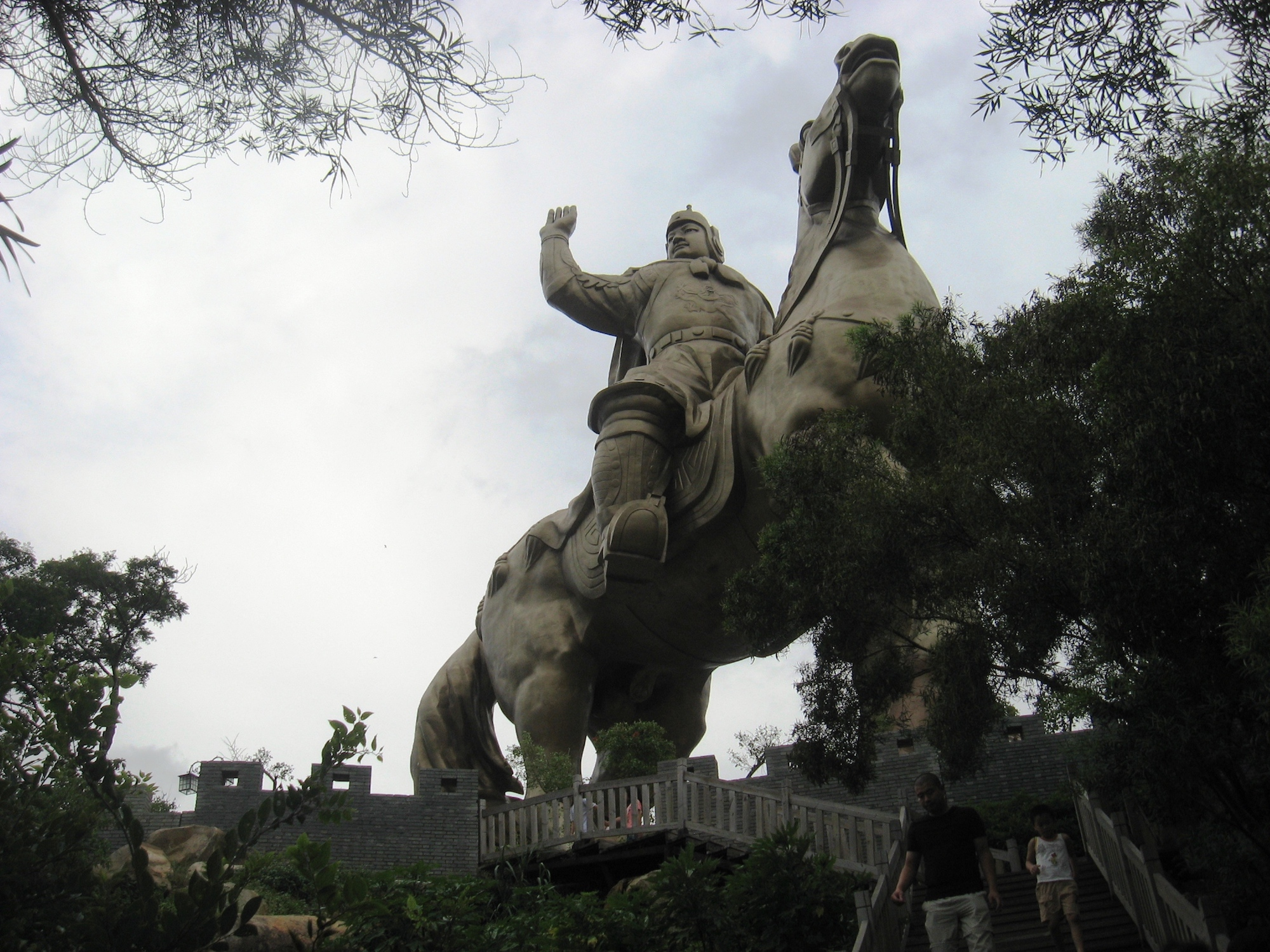 Statue of Zheng Chenggong, erected by the Fujian government in 2004